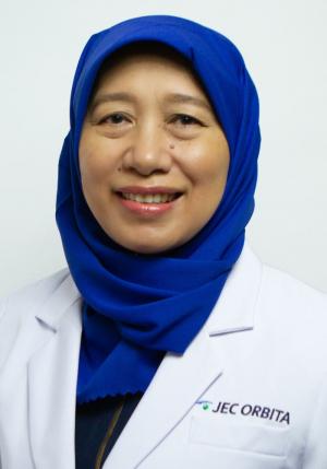 Dr. Suliati P. Amir, SpM