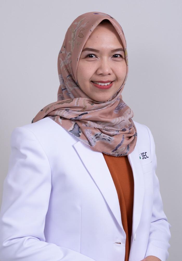 Dr. Arnila Novitasari Saubig, SpM(K)