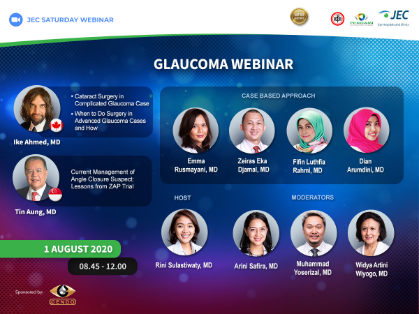 JEC Saturday Webinar - Glaucoma