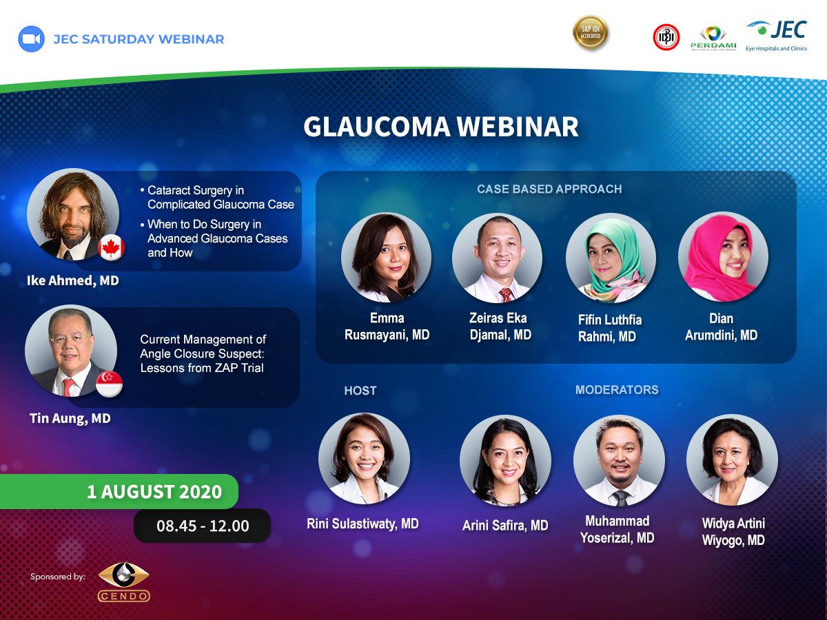 JEC Saturday Webinar - Glaucoma