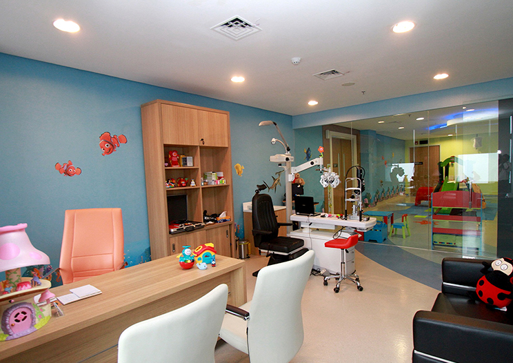 Children Eye and Squint Clinic Room
