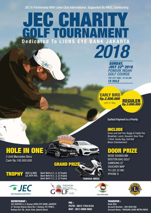 JEC Charity Golf Tournament
