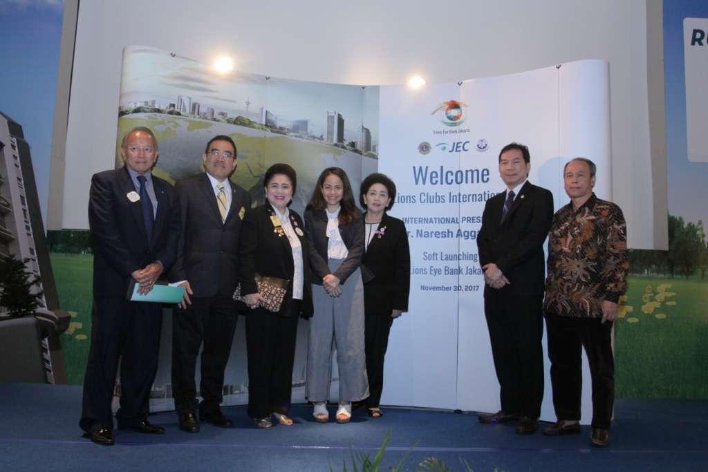 Soft Launching Lions Eye Bank Jakarta