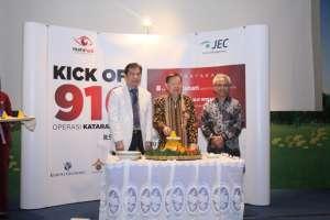 KICK OFF 910 OPERASI KATARAK GRATIS DI JEC @ KEDOYA