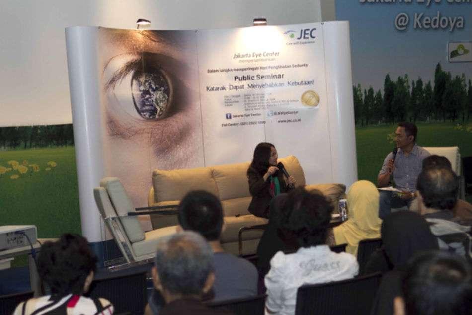 Public Seminar World Sight Day - Katarak Dapat Menyebabkan Kebutaan