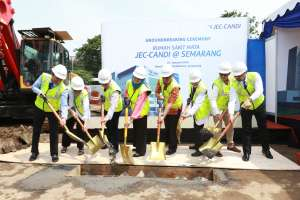 Groundbreaking RS Mata JEC-Candi @ Semarang
