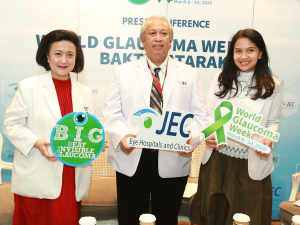 JEC World Glaucoma Week & Bakti Katarak 2020