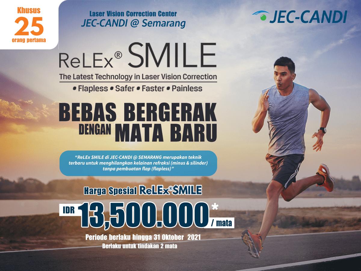 Promo Harga Khusus Tindakan ReLEx SMILE di JEC-CANDI @ Semarang