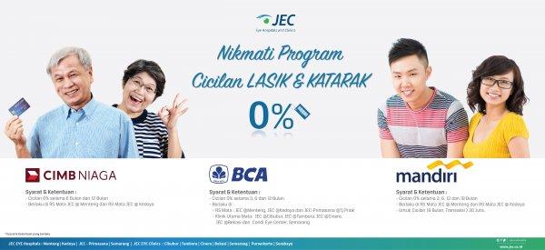 LASIK & KATARAK - 0% Installment